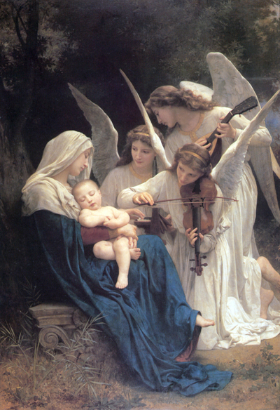 Song of the Angels, Bouguereau